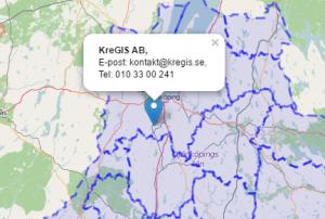 Klipp från interaktiva testkartan